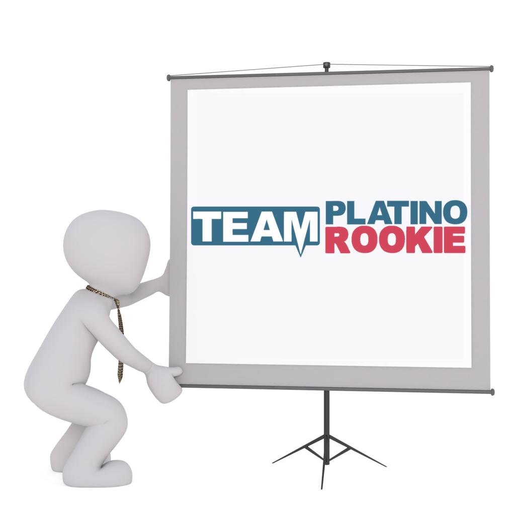 Logo TeamPlatino Rookie