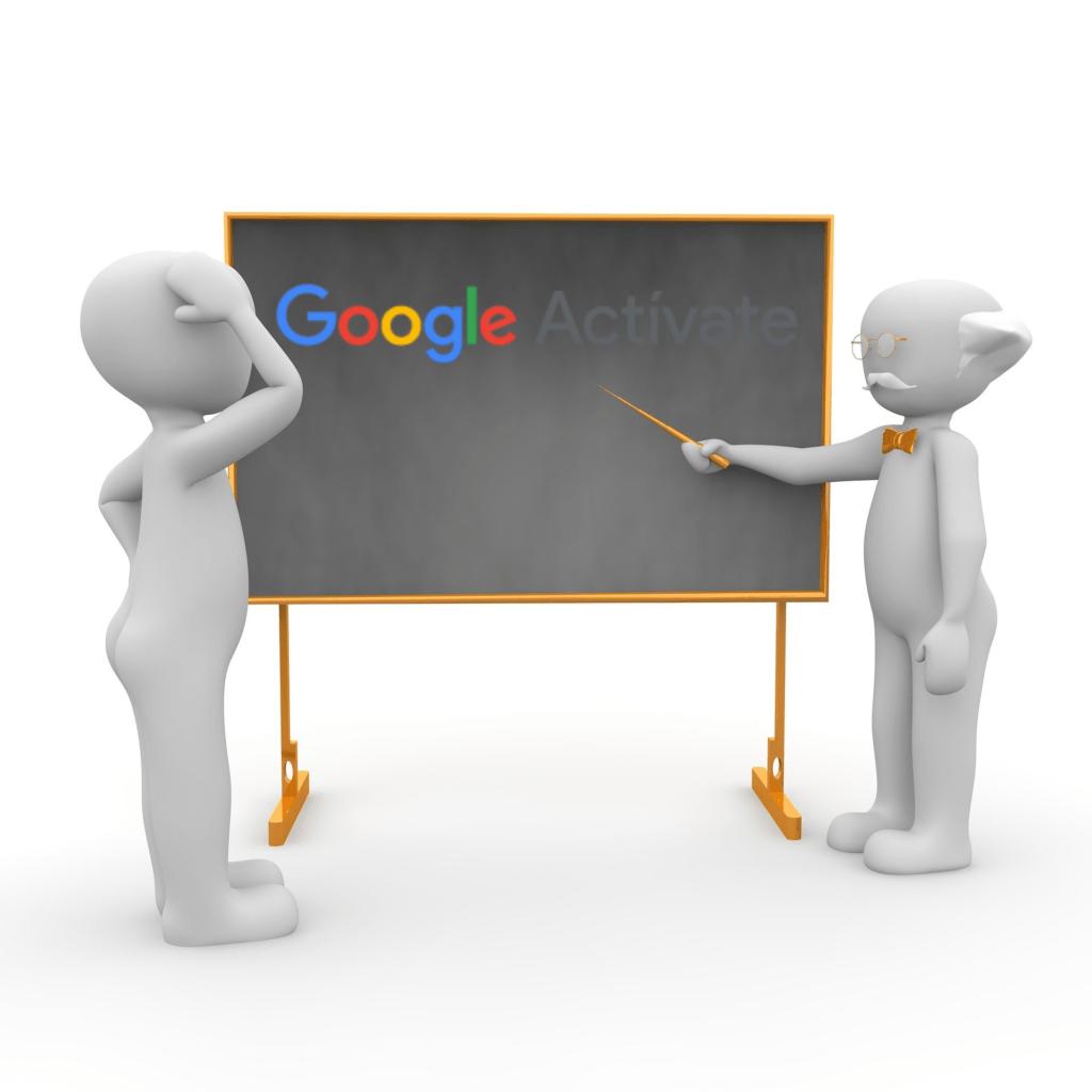 Logo Google activate