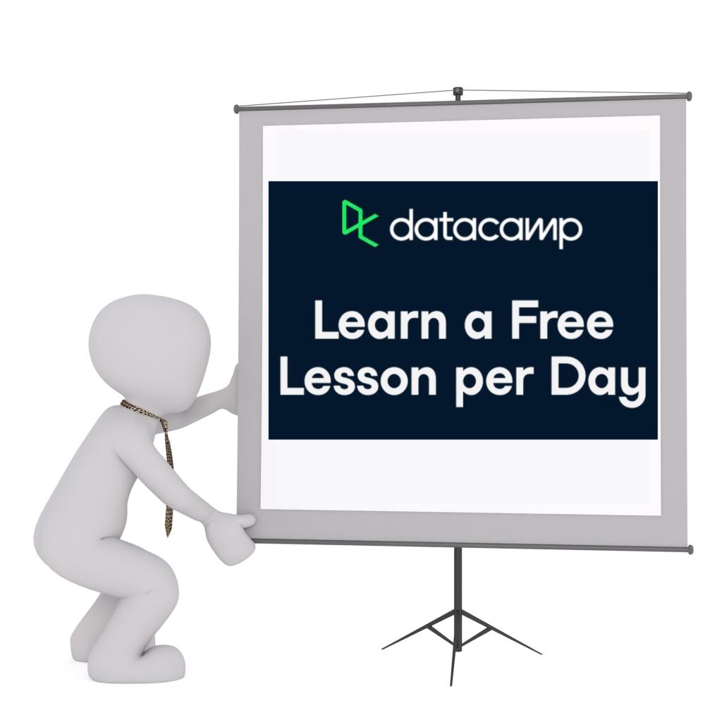 Free lesson datacamp