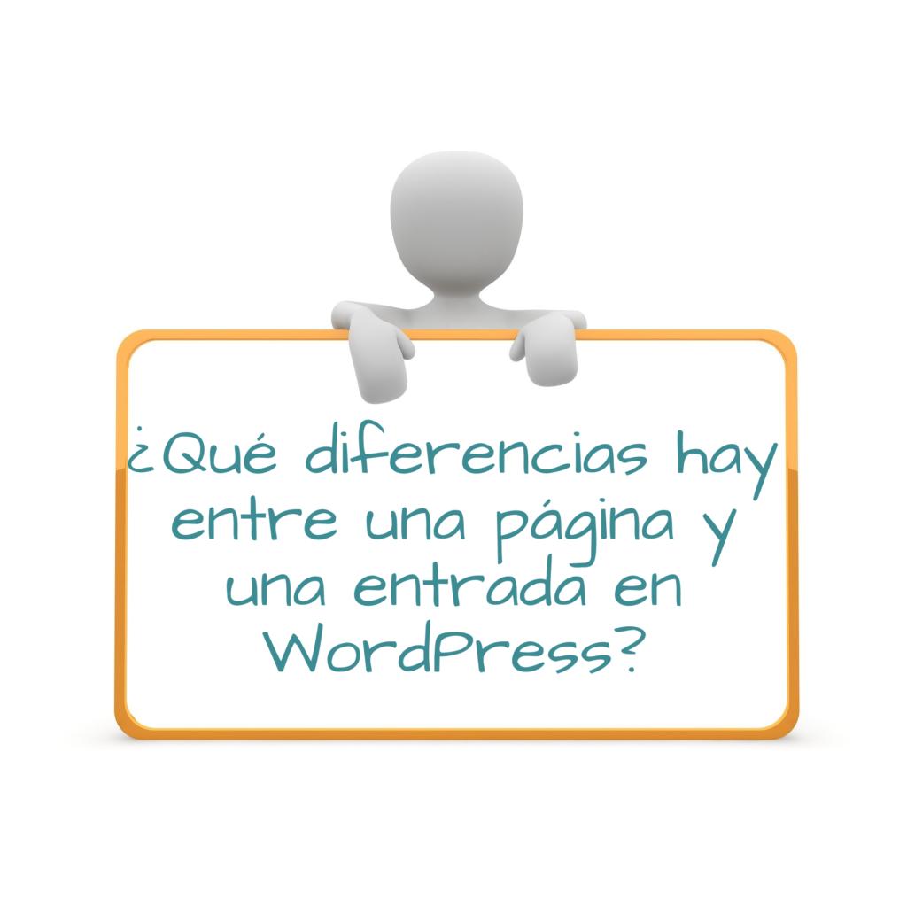 Página vs Entrada WordPress