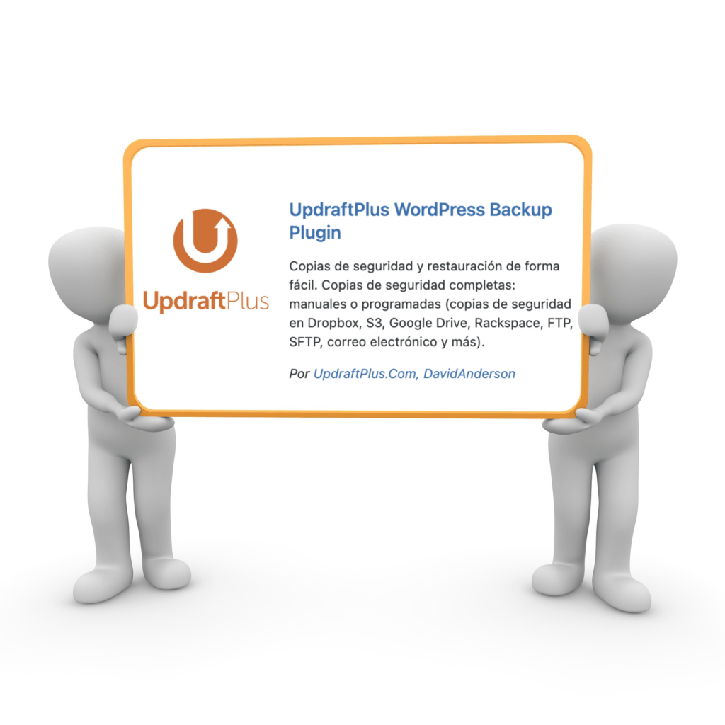 Plugin UpdraftPlus WordPress